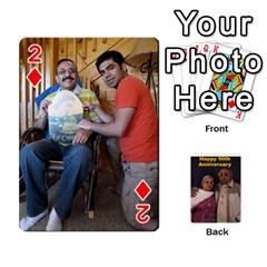 Popsfinal By Farid   Playing Cards 54 Designs   Lg10f1bwidx0   Www Artscow Com Front - Diamond2