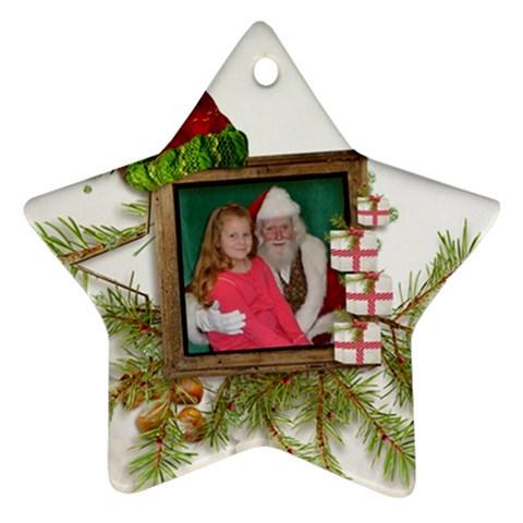 Kylie s Ornament By Kellie Simpson   Ornament (star)   Xf68au4zzc2c   Www Artscow Com Front