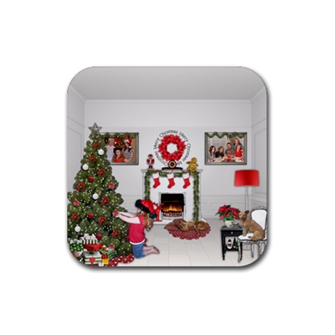 Square Rubber Coaster By Kellie Simpson   Rubber Coaster (square)   Np28ki29mu6f   Www Artscow Com Front