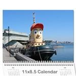 2011 - 2012 Calendar - Wall Calendar 11  x 8.5  (18 Months)
