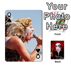 Queen Jesselynn s Birthday Cards! By Sheila O donnell   Playing Cards 54 Designs   3s4lag938njv   Www Artscow Com Front - SpadeQ