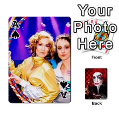 Ace Jesselynn s Birthday Cards! By Sheila O donnell   Playing Cards 54 Designs   3s4lag938njv   Www Artscow Com Front - SpadeA