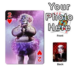 Jesselynn s Birthday Cards! By Sheila O donnell   Playing Cards 54 Designs   3s4lag938njv   Www Artscow Com Front - Heart2