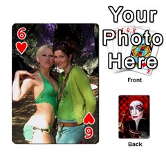 Jesselynn s Birthday Cards! By Sheila O donnell   Playing Cards 54 Designs   3s4lag938njv   Www Artscow Com Front - Heart6