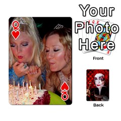 Queen Jesselynn s Birthday Cards! By Sheila O donnell   Playing Cards 54 Designs   3s4lag938njv   Www Artscow Com Front - HeartQ