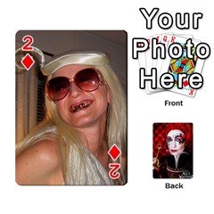 Jesselynn s Birthday Cards! By Sheila O donnell   Playing Cards 54 Designs   3s4lag938njv   Www Artscow Com Front - Diamond2