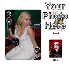 Jesselynn s Birthday Cards! By Sheila O donnell   Playing Cards 54 Designs   3s4lag938njv   Www Artscow Com Front - Club2