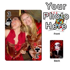 Jesselynn s Birthday Cards! By Sheila O donnell   Playing Cards 54 Designs   3s4lag938njv   Www Artscow Com Front - Club3