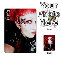 Jack Jesselynn s Birthday Cards! By Sheila O donnell   Playing Cards 54 Designs   3s4lag938njv   Www Artscow Com Front - ClubJ
