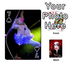Jesselynn s Birthday Cards! By Sheila O donnell   Playing Cards 54 Designs   3s4lag938njv   Www Artscow Com Front - Spade7