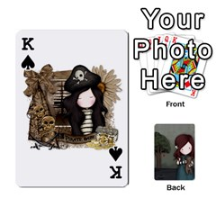 King Gorjuss Playing Cards By Kellie Simpson   Playing Cards 54 Designs   Isyrn0on42ut   Www Artscow Com Front - SpadeK
