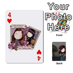 Gorjuss Playing Cards By Kellie Simpson   Playing Cards 54 Designs   Isyrn0on42ut   Www Artscow Com Front - Heart4