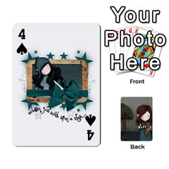 Gorjuss Playing Cards By Kellie Simpson   Playing Cards 54 Designs   Isyrn0on42ut   Www Artscow Com Front - Spade4