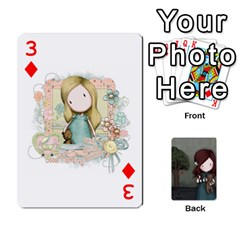 Gorjuss Playing Cards By Kellie Simpson   Playing Cards 54 Designs   Isyrn0on42ut   Www Artscow Com Front - Diamond3
