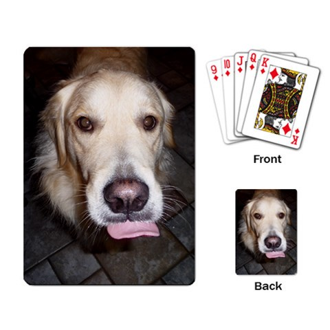 Sawyer Playing Cards By Kellie Simpson   Playing Cards Single Design   Yx61p1xntms7   Www Artscow Com Back