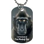 _Monkey Bar Tag 13 - Dog Tag (One Side)