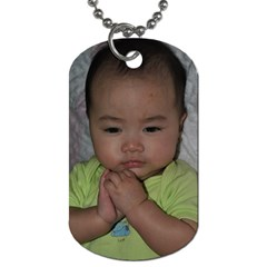 Angelic Ella By J   Dog Tag (two Sides)   K7pn2d1ndib7   Www Artscow Com Front