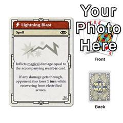 King Wiz War Ii Deck 1 By T C   Playing Cards 54 Designs   U3lgxsyn0t51   Www Artscow Com Front - SpadeK