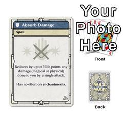 Wiz War Ii Deck 1 By T C   Playing Cards 54 Designs   U3lgxsyn0t51   Www Artscow Com Front - Diamond9