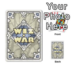 Wiz War Ii Deck 3 By T C   Playing Cards 54 Designs   52ivu2fmkxat   Www Artscow Com Back