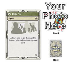 King Wiz War Ii Deck 3 By T C   Playing Cards 54 Designs   L0z97dwzoa7y   Www Artscow Com Front - SpadeK