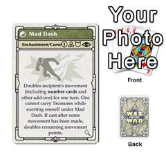 Wiz War Ii Deck 3 By T C   Playing Cards 54 Designs   L0z97dwzoa7y   Www Artscow Com Front - Heart9