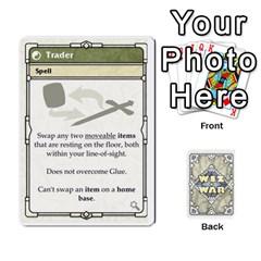 Wiz War Ii Deck 3 By T C   Playing Cards 54 Designs   L0z97dwzoa7y   Www Artscow Com Front - Diamond8
