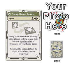 Wiz War Ii Deck 3 By T C   Playing Cards 54 Designs   L0z97dwzoa7y   Www Artscow Com Front - Diamond9
