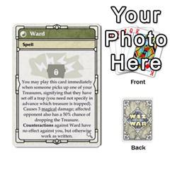 Wiz War Ii Deck 3 By T C   Playing Cards 54 Designs   L0z97dwzoa7y   Www Artscow Com Front - Diamond10