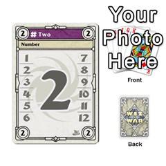King Wiz War Ii Deck 3 By T C   Playing Cards 54 Designs   L0z97dwzoa7y   Www Artscow Com Front - ClubK