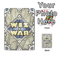 Wiz War Ii Deck 4 By T C   Playing Cards 54 Designs   Lu3q1f45bcl5   Www Artscow Com Front - Club8