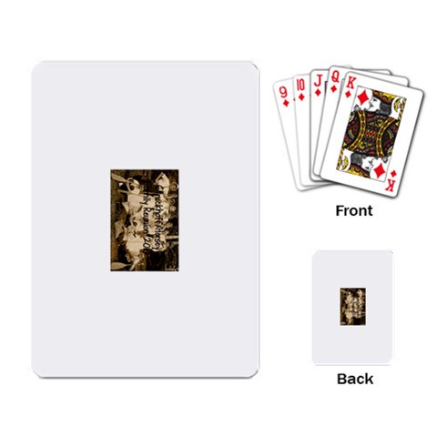 Reunion Playing Cards By Kate   Playing Cards Single Design   Hjq6u1ofj05q   Www Artscow Com Back