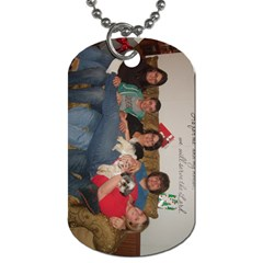 Mom Of Five By Sherry Gay   Dog Tag (two Sides)   X9u0s25gd56l   Www Artscow Com Front