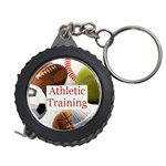 Sports ball tape measure key chain 2 - Measuring Tape