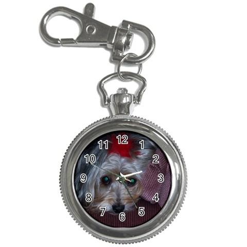 Bailey On Watch By Carol Olah   Key Chain Watch   5rhjd0fgbiyl   Www Artscow Com Front