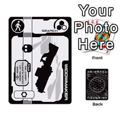 Zaibatsu 1/2 By Javier Benítez   Playing Cards 54 Designs   X36jgneox7mn   Www Artscow Com Front - Spade4
