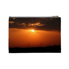 Sunrise Large Cosmetic Bag By Jennifer Sneed   Cosmetic Bag (large)   1g30ool73ylo   Www Artscow Com Back