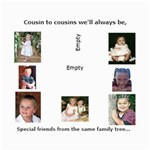 Cousins Collage - Collage 8  x 10