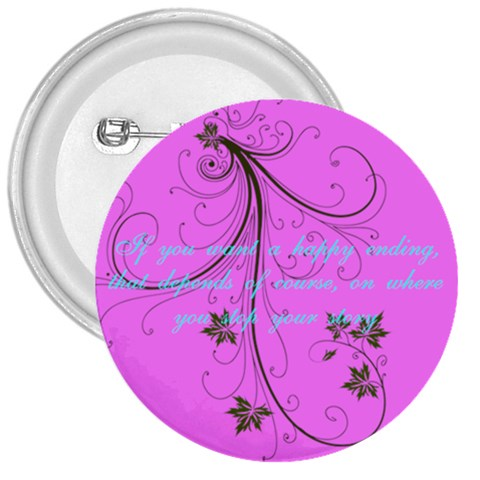 Happy By Myra   3  Button   Ovvh3wfrlrc5   Www Artscow Com Front
