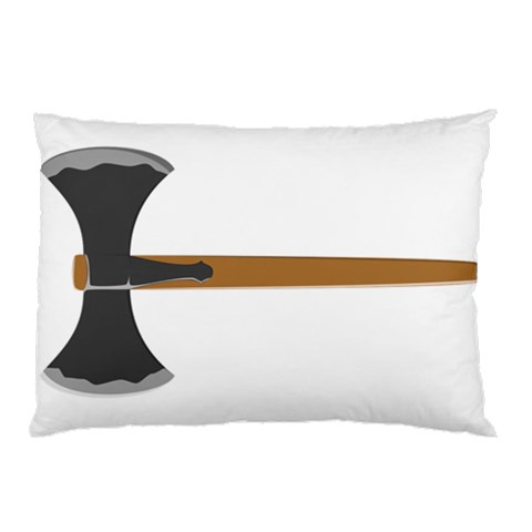 Barbarian Pillow Fighter By Richard Durham   Pillow Case   Nwfxq0oza3le   Www Artscow Com 26.62 x18.9 Pillow Case