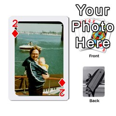 Father s Day By Kristen   Playing Cards 54 Designs   6vw540blpqe8   Www Artscow Com Front - Diamond2
