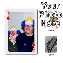 Father s Day By Kristen   Playing Cards 54 Designs   6vw540blpqe8   Www Artscow Com Front - Diamond7