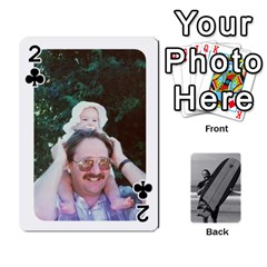 Father s Day By Kristen   Playing Cards 54 Designs   6vw540blpqe8   Www Artscow Com Front - Club2