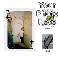 Father s Day By Kristen   Playing Cards 54 Designs   6vw540blpqe8   Www Artscow Com Front - Club7