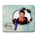 fathers day - Large Mousepad