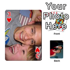 Bennett s Cards By Mallory   Playing Cards 54 Designs   Bv6n8nb2913t   Www Artscow Com Front - Heart3