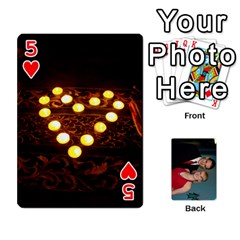 Bennett s Cards By Mallory   Playing Cards 54 Designs   Bv6n8nb2913t   Www Artscow Com Front - Heart5