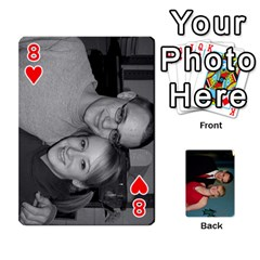 Bennett s Cards By Mallory   Playing Cards 54 Designs   Bv6n8nb2913t   Www Artscow Com Front - Heart8