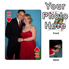 King Bennett s Cards By Mallory   Playing Cards 54 Designs   Bv6n8nb2913t   Www Artscow Com Front - HeartK
