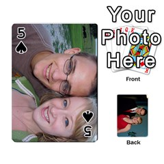 Bennett s Cards By Mallory   Playing Cards 54 Designs   Bv6n8nb2913t   Www Artscow Com Front - Spade5